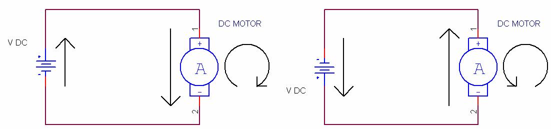 DC Motor change of Direction -